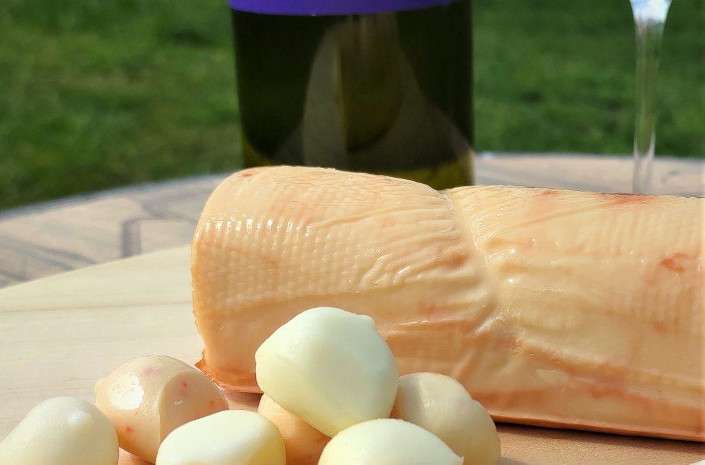 Dobrawa z Winnicy Dąbrówka z serowymi kulkami Bogoni
